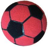 Aufblasbare klebrige Fußball-Kugel-aufblasbare Fußball-Kugel mit Flausch für aufblasbares Pfeil-Spiel