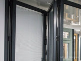 110のシリーズ外部のバルコニーのためのアルミニウム外部テラスの折れ戸