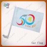 Рот Поляк изготовленный на заказ флага автомобиля полиэфира высокой ранга широкий (HYCF-AF017)