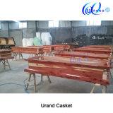 Cofanetto e bara più poco costosi di legno interni della quercia del velluto cinese adulto