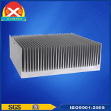 Dissipatore di calore dell'amplificatore di potere fatto della lega di alluminio 6063