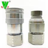 Il montaggio idraulico di ampie varietà gradua l'accoppiamento secondo la misura della versione rapida dei connettori del tubo