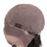 여왕 머리를 꿈꿔 흑인 여성을%s 페루 똑바른 Remy 머리 바브 가발 150% 조밀도 레이스 정면 사람의 모발 가발