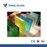 6.38-43.20mm Apagar/vidro de segurança de vidro laminado colorido Bulletproof Glass