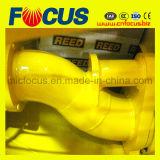 Energía eléctrica agradable de la bomba concreta del acoplado de la calidad, bomba transportadora concreta