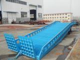 10t Mobile contenedor hidráulico pesado de la rampa de carga