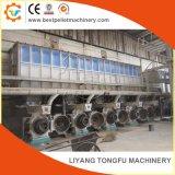 A fábrica de produção de pelotas de serragem completa, planta de pelotização de madeira