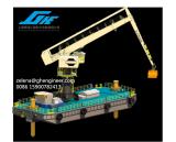 E-grue flottante pour le transporteur de vrac