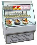 Refrigerador de la visualización del emparedado abierto con Ce