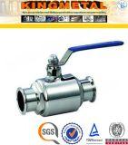 Preço sanitário da válvula de esfera de 2/4/6/de polegada 2PC CF8/CF8m para a indústria alimentar
