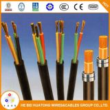Basso cavo di gomma flessibile di tensione H05rn-F H07rn-F 3X1.5 3X2.5 3X4 mm2