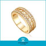Comercio al por mayor Joyas chapado en oro de la boda elegante Anillo de dedo (SH-R0334)