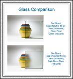 Ясно/покрасил стекло вытравленное Aicd Tempered с конструкциями для офиса/здания/двери