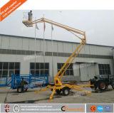 De gearticuleerde Towable Lift van de Mens van de Plukker van de Kers van de Lift van de Boom Aanhangwagen Opgezette