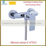 Mélangeur de douche à levier unique en laiton&robinet