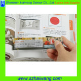 Het Glas van Magnifiers van de Hand van de Creditcard/de Lens van Magnifier/van de Hand met Kaliberbepaling voor Gift hw-801 van de Bevordering