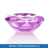 Houders van de Kaars van het Glas van de Stijl van de diamant de Kleurrijke voor Tealight