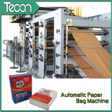 Impresión de ahorro de energía Flexo válvula de la bolsa de papel instalaciones de fabricación