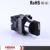 Drucktastenschalter der Cer TUV-Hby5 momentaner verriegelnder LED Serien-22mm 10A/250V