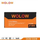 Batteria mobile di vendita calda di qualità del AAA per la galassia J7 2016 di Samsung