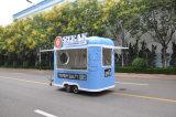De mobiele Karren van het Voedsel, de Aanhangwagens van het Voedsel/Foodtrucks, pasten Hete Verkoop aan