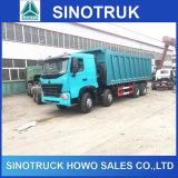 이디오피아에 있는 Sinotruk HOWO A7 371HP 420HP 12 짐수레꾼 8X4 덤프 팁 주는 사람 트럭