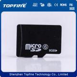 Carte mémoire sd micro initiale 8GB Class6 (TF-4003) de capacité totale