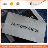 卸し売りカスタム衣類プリントポリエステル印刷の洗濯できる編まれた衣服のラベル