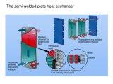Lo scambiatore di calore d'acciaio del piatto di /Stainless /Semi-Welded della scanalatura di guarnizione