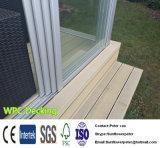 Decking compuesto plástico de madera sólido de WPC de 140*25m m con buen Quanlity