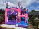 Spelen van de Sporten van jonge geitjes de Openlucht Kleine Opblaasbare, Blauw Kasteel Bouncy (cl-023)