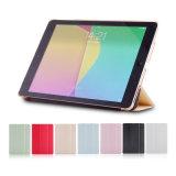 iPad를 위한 최신 판매 고품질 손가락으로 튀김 작풍 PU 상자