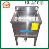 Equipamento barato do restaurante que frita a frigideira profunda da batata espiral da máquina para a venda
