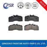Europäischer Auto-halb metallischer Selbstersatzteil-LKW-Bremsbelag
