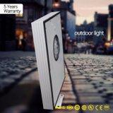5 anni di indicatore luminoso esterno solare Integrated della garanzia 50W