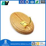 Crochet de suspension de la porte de meubles en bois personnalisé avec Clam Shell de l'emballage