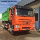Sinotruck HOWO 상표 6X4 팁 주는 사람 트럭
