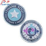カスタマイズされた高品質の創造的で多彩な円形のプルーフコイン