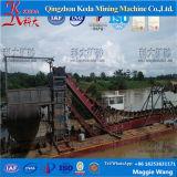 De Gouden die Baggermachine van de Emmer van de Keten van de hoge Efficiency in China wordt gemaakt