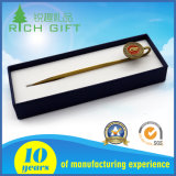 Rifornimento del ricordo del segnalibro del PVC placcato metallo dell'oro nessuna fabbricazione minima di ordine