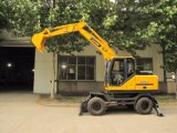 Nuovi escavatori ampiamente usati della rotella con la benna 0.35m3
