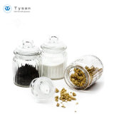 Glass Lidの330ml 11oz Mason Storage Glass Apothecary Jar