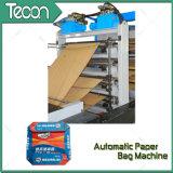 Bolsa de papel ahorro de energía automática que hace la máquina con la impresión de Flexo