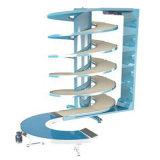 Transportador espiral del sistema de enfriamiento del pan/de la torta/de la pasta