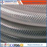 Pas de flexible renforcé de fibre de PVC olfactif