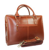заводская цена хорошего качества красноватого цвета кожаными ноутбук портфель для мужчин