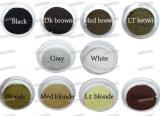 10 cores perda de cabelo homens em pó fibras de cabelo instantâneas