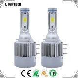 LEDのキセノンによって隠されるキットおよびH7 LEDのヘッドライトが付いている自動LEDのヘッドライト7600lm LEDのオートバイのヘッドライト