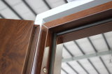 Porta dianteira de aço de Fangda da segurança principal grande simples disponível durável