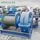 Einfaches Geschäfts-einzelnes Trommel-Kabel, das verwendete hydraulische Handkurbel zieht